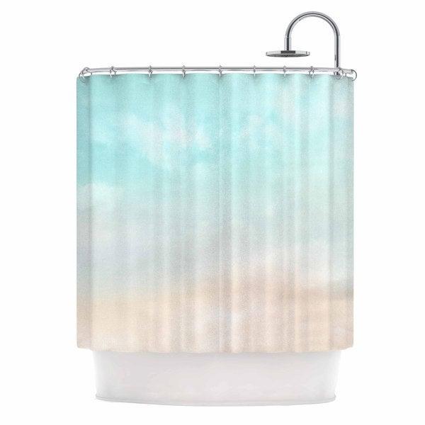 KESS InHouse Michelle Drew 'Vintage Blue Skies' Shower Curtain (69x70)