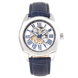 Aquaswiss Men's 30GA004 Blue/ Silver Legend Automatic Watch