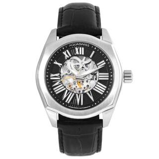 Aquaswiss Men's 30GA002 Black/ Silver Legend Automatic Watch