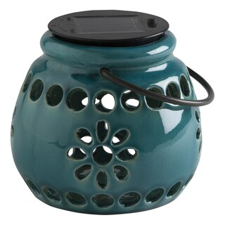 TAG Aqua Terracotta Solar Lantern