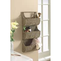 Tag Coffee Seagrass 3-part Wall Basket