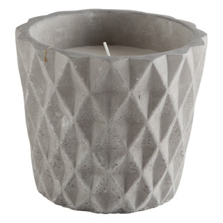 TAG Grey Citronella Filled Pot Large