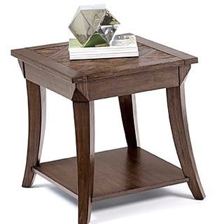 Distressed Finish End Table