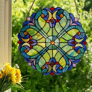 Mini Halston Glass 12-inch Panel