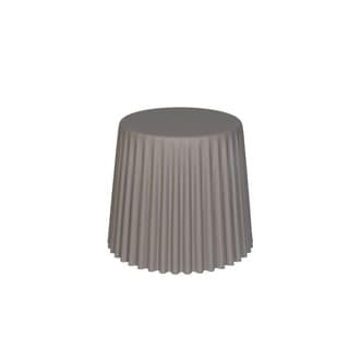 Sunjoy Taupe Side Table/Planter