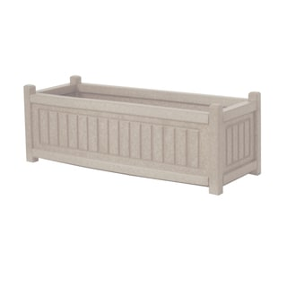Eagle One Nantucket Greenwood Commercial-grade Plastic 34-inch x 12-inch Planter Box