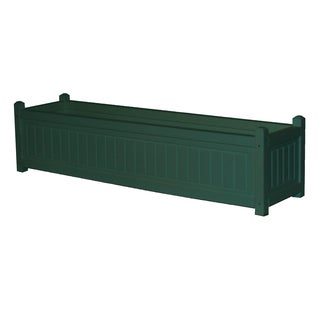 Eagle One Nantucket 48-inch x 12-inch Greenwood Commercial-grade Planter Box