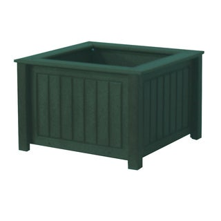 Eagle One North Hampton 17-inch x 17-inch Greenwood Commercial-grade Planter Box
