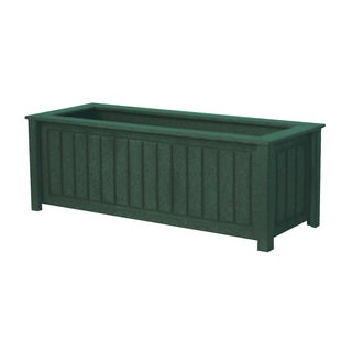Eagle One North Hampton Recycled Plastic 34-inch x 12-inch Greenwood Commercial-grade Planter Box