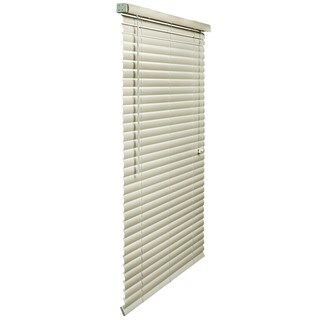 34- to 70-inches-wide Alabaster Vinyl Plus 2-inch Blind