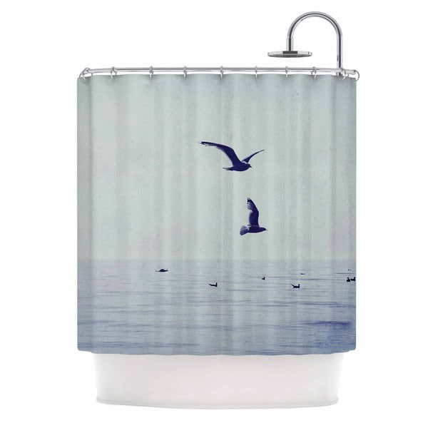 KESS InHouse Chelsea Victoria 'Two If By Sea' Shower Curtain (69x70)