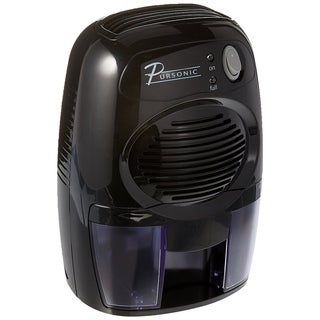 Pursonic DHM-200 Black Mini-capacity Electric Compact Dehumidifier