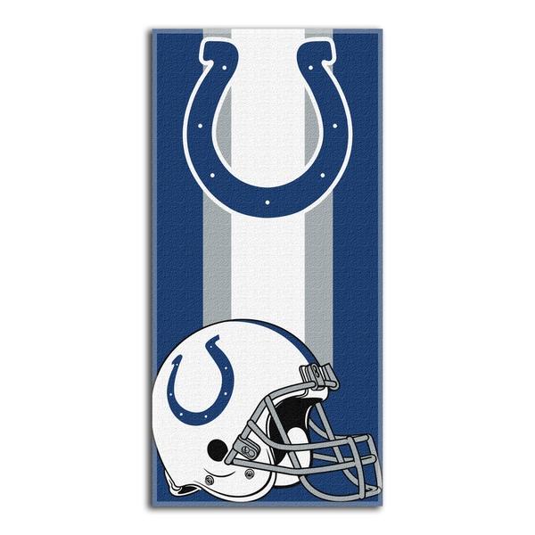 NFL 620 Colts Zone Read Beach Towel