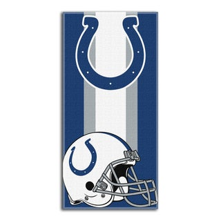NFL 620 Colts Zone Read Beach Towel