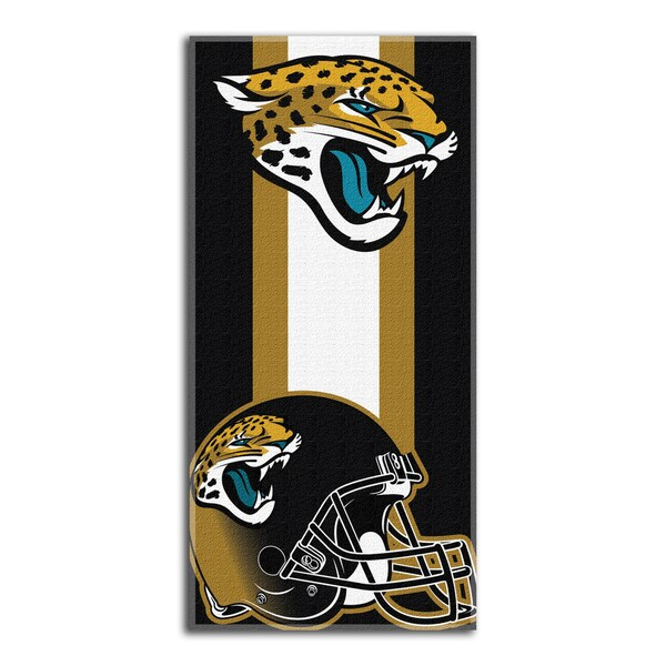 NFL 620 Jaguars Zone Read Beach Towel