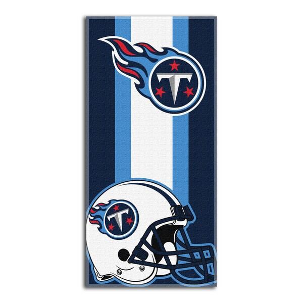 NFL 620 Titans Zone Read Beach Towel