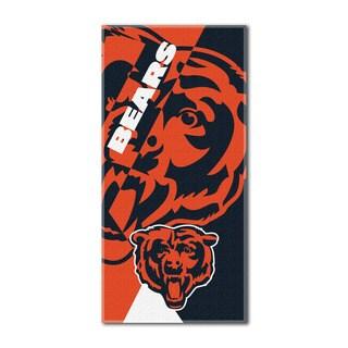 NFL 622 Bears Puzzle Beach Towel