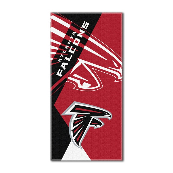NFL 622 Falcons Puzzle Beach Towel