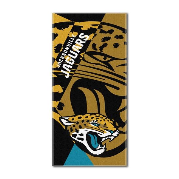 NFL 622 Jaguars Puzzle Beach Towel