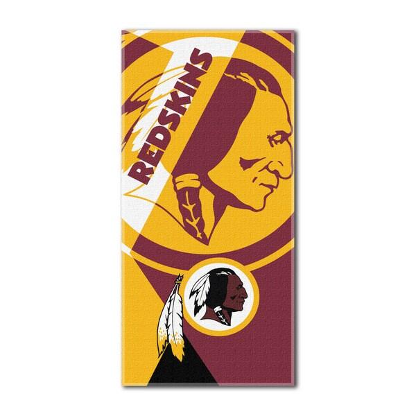 NFL 622 Redskins Puzzle Beach Towel