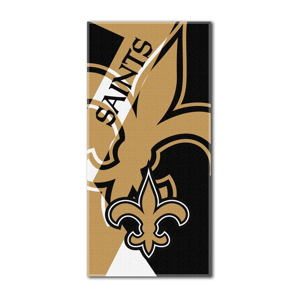NFL 622 Saints Puzzle Beach Towel