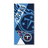 NFL 622 Titans Puzzle Beach Towel
