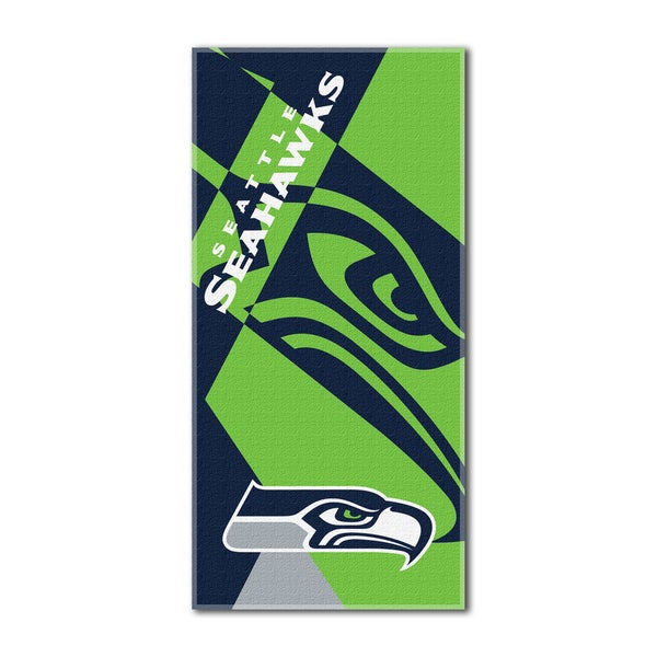 NFL 722 Seahawks Puzzle Beach Towel