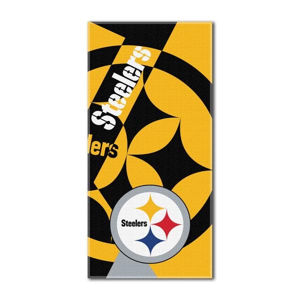 NFL 722 Steelers Puzzle Beach Towel
