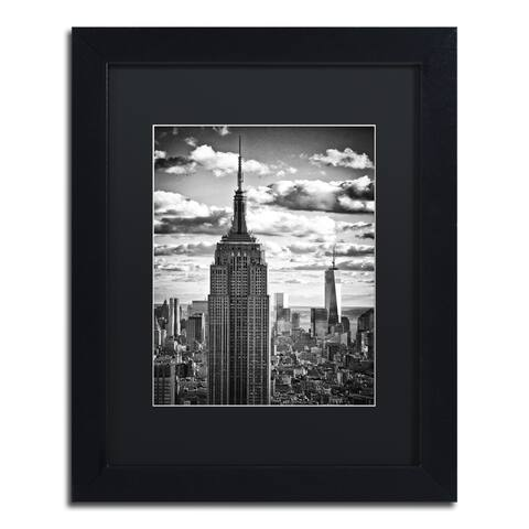 Philippe Hugonnard 'New York Skyscrapers' Matted Framed Art