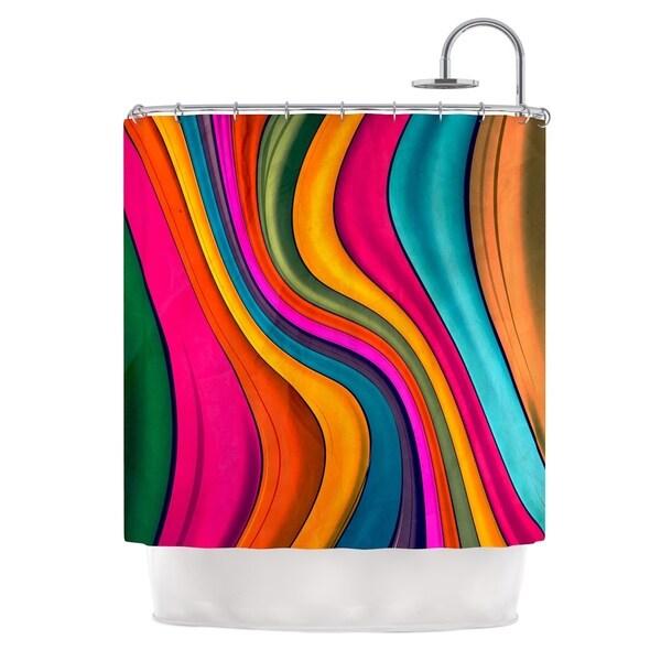 KESS InHouse Danny Ivan 'Lov Color' Shower Curtain (69x70)
