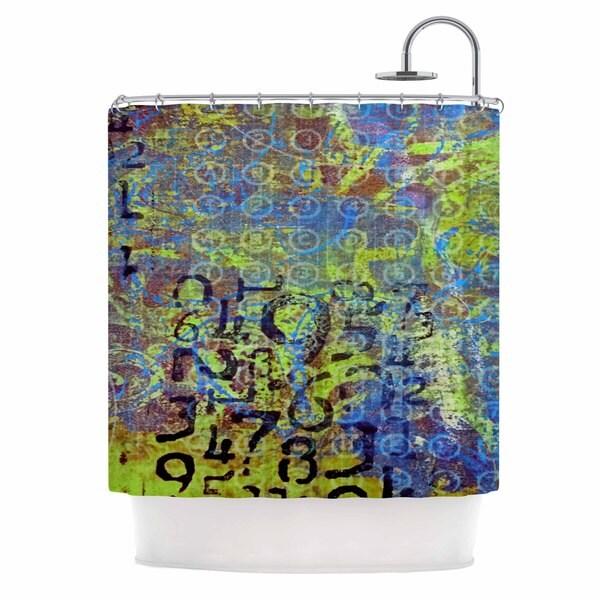 KESS InHouse AlyZen Moonshadow 'DISCOVER 5' Shower Curtain (69x70)