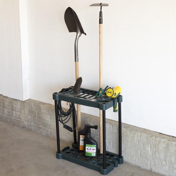 Stalwart Compact Garden Tool Storage Rack - Fits Over 30 Tools & Shop Stalwart Compact Garden Tool Storage Rack - Fits Over 30 Tools ...