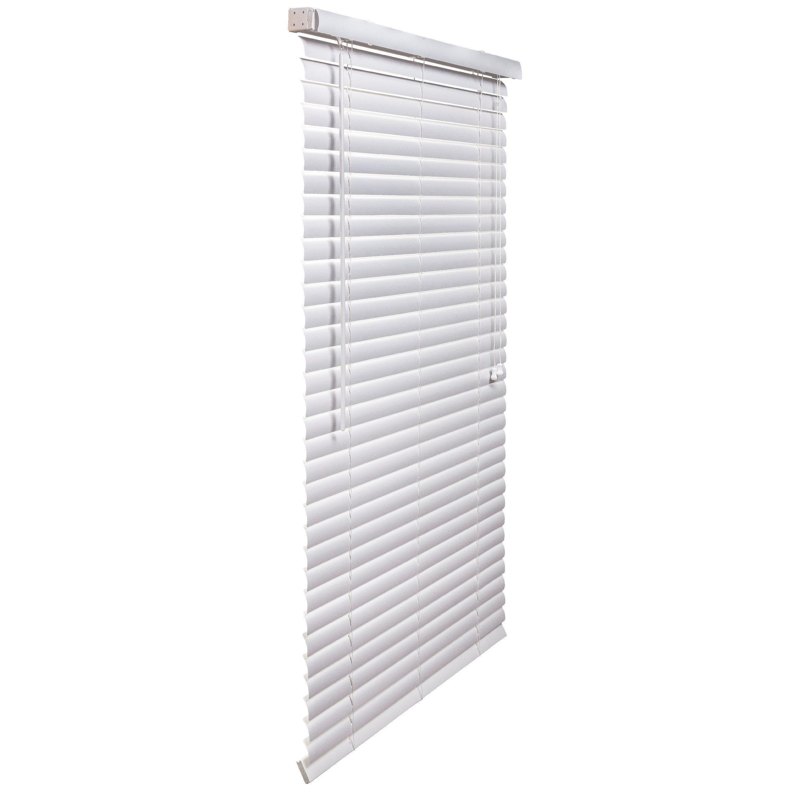 Lotus White PVC/Vinyl 2-inch Blinds (White, 48 Inches Wid...