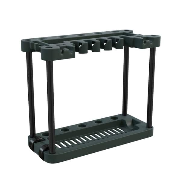 Shop Garden Tool Storage Rack Portable Rolling Tool And Supply