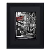 Philippe Hugonnard 'NYC Bistro' Matted Framed Art