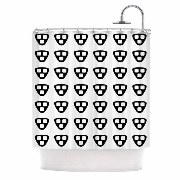 KESS InHouse Trebam 'Kubus' Shower Curtain (69x70)