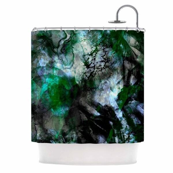 KESS InHouse Shirlei Patricia Muniz X27Camouflagex27 Shower Curtain
