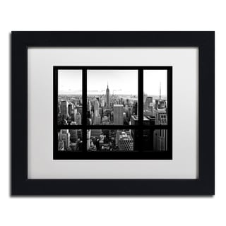 Philippe Hugonnard 'View of New York City' Matted Framed Art