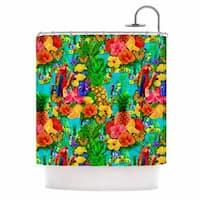 KESS InHouse Shirlei Patricia Muniz 'Tropical Style' Shower Curtain (69x70)
