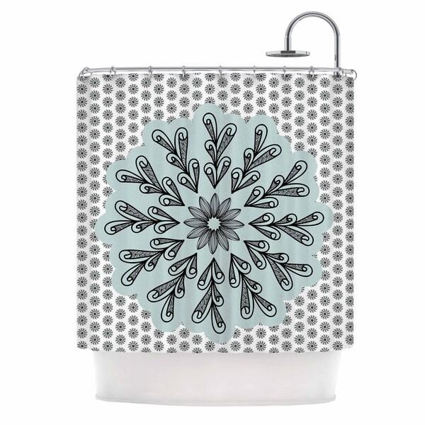 KESS InHouse Shirlei Patricia Muniz 'My Flower' Shower Curtain (69x70)
