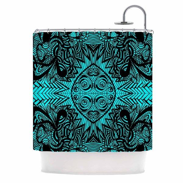 KESS InHouse Shirlei Patricia Muniz 'The Elephant Walk' Shower Curtain (69x70)