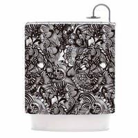 KESS InHouse Shirlei Patricia Muniz 'Secret Dream' Shower Curtain (69x70)