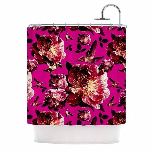 KESS InHouse Shirlei Patricia Muniz 'Floral' Shower Curtain (69x70)