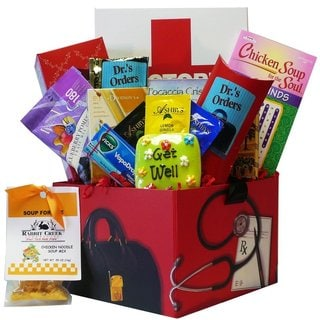 Art of Appreciation Gift Baskets Doctor's Orders Get Well Soon Care Package Box