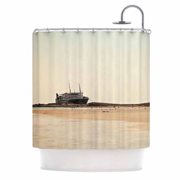 KESS InHouse Sylvia Coomes 'Nautical Bliss' Shower Curtain (69x70)