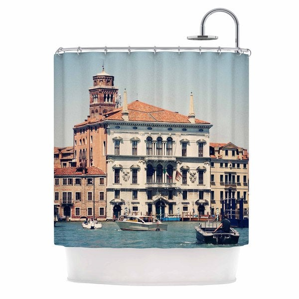 KESS InHouse Sylvia Coomes 'Venice 6' Shower Curtain (69x70)