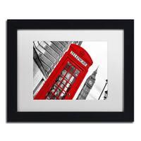 Philippe Hugonnard 'London' Matted Framed Art