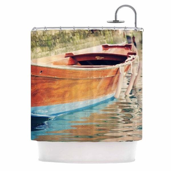 KESS InHouse Sylvia Coomes 'Venetian Boat' Shower Curtain (69x70)