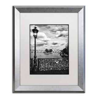 Philippe Hugonnard 'Pont des Arts Paris' Matted Framed Art