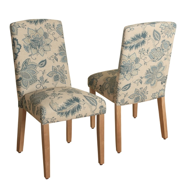Shop HomePop Lexie Curved Top Parson Dining Chair-Set Of 2